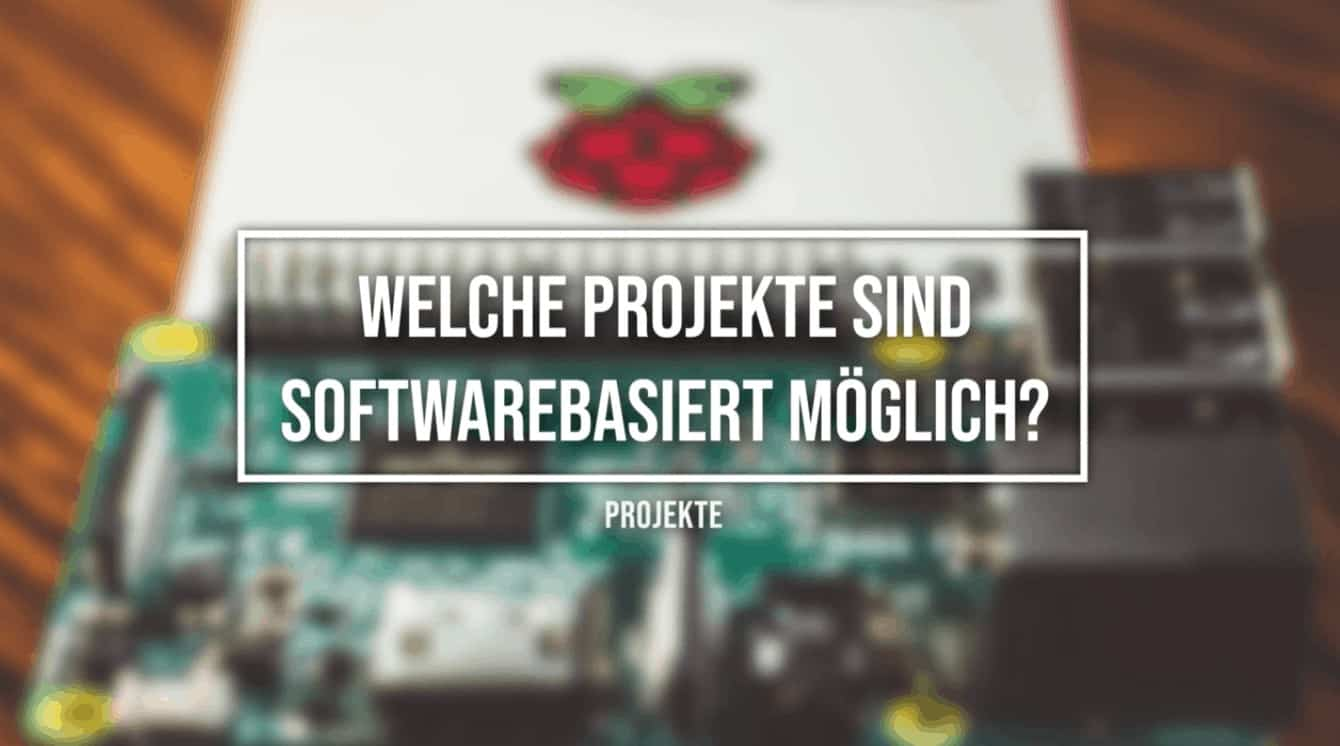 Raspberry Pi Software Projekte