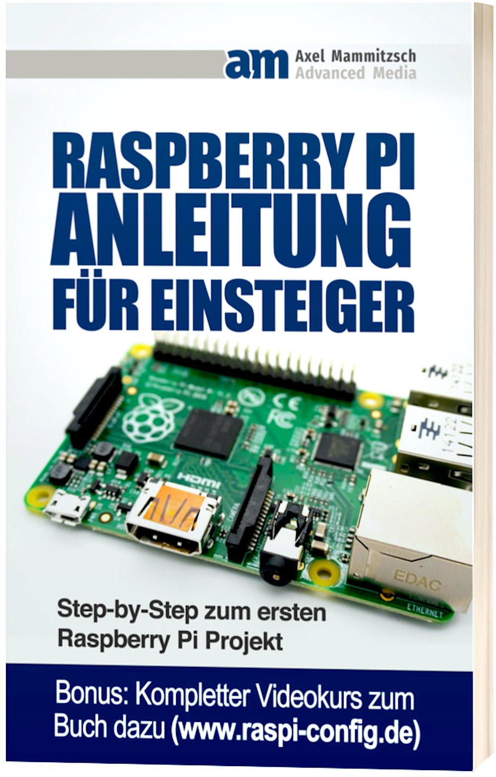 Raspberry Pi Buch Cover