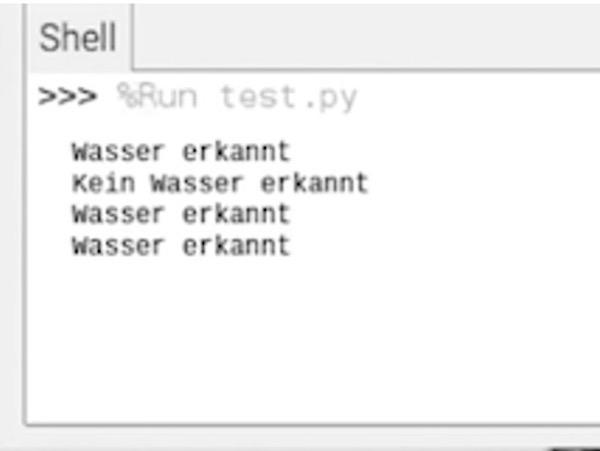 Raspberry Pi Sensor Feuchtigkeitsmodul Script
